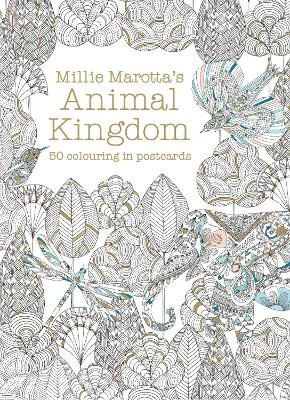 Millie Marotta's Animal Kingdom Postcard Box - 50 beautiful cards for colouring in (Postcard book or pack): Millie Marotta