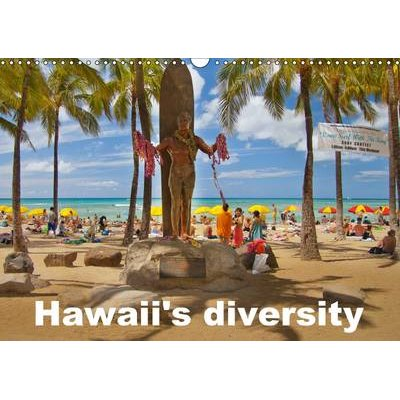 Hawaii's Diversity 2017 - Pictures of the Aloha State (Calendar, 3rd Revised edition): Studio-Fifty-Five
