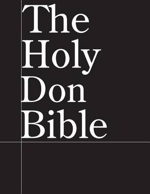 The Holy Don Bible (Paperback): Jussle Bears
