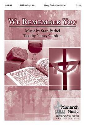 We Remember You (Paperback): Nancy Gordon
