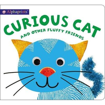 Alphaprints: Curious Cat and Other Fluffy Friends (Board book): Roger Priddy