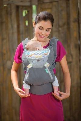 4dcaa1ea721 Slings   Wraps - Infantino  Cuddle Up Ergonomic Hoodie Carrier (Grey ...
