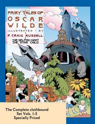 Fairy Tales of Oscar Wilde: The Complete Hardcover Set 1-5 (Hardcover): Oscar Wilde