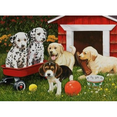 Ravensburger Puppy Party Jigsaw Puzzle (60 Pieces): Ravensburger