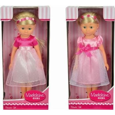 Madeleine Flower Girl (2 Assorted) (Supplied Doll May Vary):