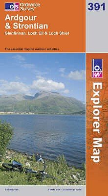 Ardgour and Strontian (Sheet map, folded, A1): Ordnance Survey