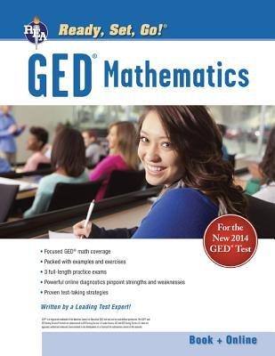 GED Math Test Tutor (Paperback, Green): Sandra Rush