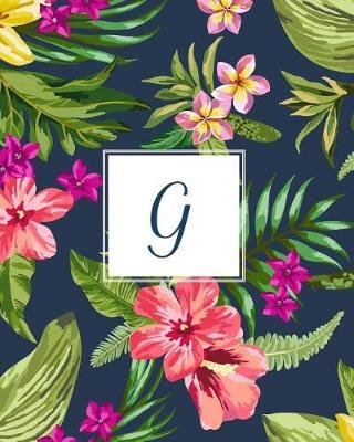 G - Tropical Floral, 150 Pages, 8 X 10 (Paperback): Creative Notebooks