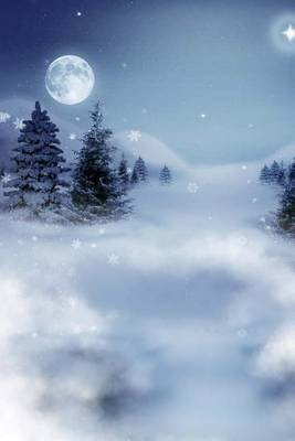 Winter Landscape Journal - Blank 200 Page Journal (Paperback): Dibiasio Publications