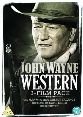 Western 3-Film Pack - The Man Who Shot Liberty Valance / The Sons Of Katie Elder / The Shootist (English & Foreign language,...