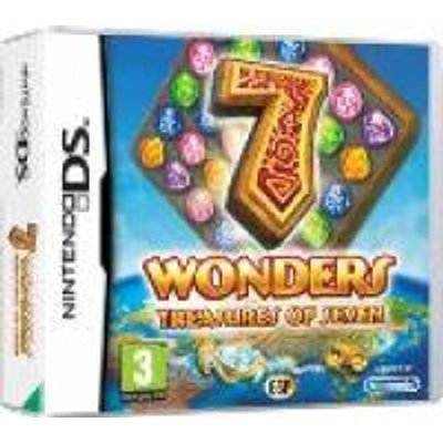 7 Wonders - Treasures of 7 (Nintendo DS, Game cartridge):