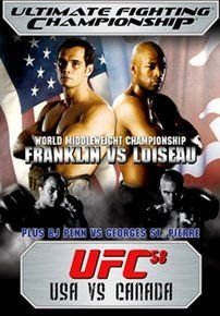 Ultimate Fighting Championship: 58 - USA Vs Canada (DVD):