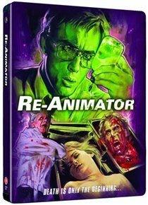 Re-animator (Blu-ray disc): Jeffrey Combs, Bruce Abbott, Barbara Crampton, Robert Sampson, David Gale, Gerry Black, Peter Kent,...