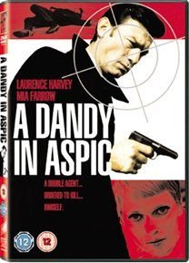 A   Dandy in Aspic (English & Foreign language, DVD): Laurence Harvey, Tom Courtenay, Mia Farrow, Lionel Stander, Harvey...