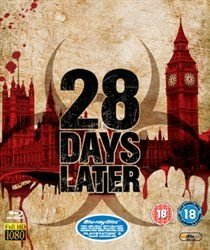 28 Days Later (Blu-ray disc): Cillian Murphy, Naomie Harris, Christopher Eccleston, Megan Burns, Noah Huntley, Brendan Gleeson,...