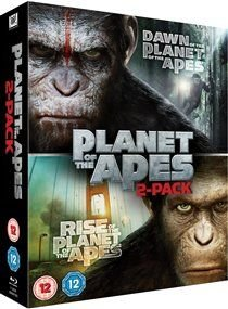 Rise of the Planet of the Apes/Dawn of the Planet of the Apes (Blu-ray disc): Andy Serkis, Sonja Bennett, Gary Oldman, Keri...