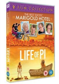 The Best Exotic Marigold Hotel/Life of Pi (DVD): Tom Wilkinson, Ramona Marquez, Ronald Pickup, Suraj Sharma, Shravanthi...