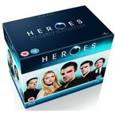 Heroes: The Complete Collection - Season 1-4 (Blu-ray disc, Boxed set): Hayden Panettiere, Jack Coleman, Masi Oka, Sendhil...
