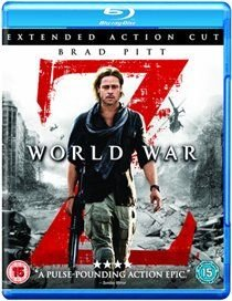 World War Z: Extended Action Cut (Blu-ray disc): Brad Pitt, Eric West, Matthew Fox, Mireille Enos, David Morse, James Badge...