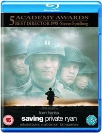 Saving Private Ryan (English & Foreign language, Blu-ray disc): Tom Hanks, Edward Burns, Matt Damon, Tom Sizemore, Barry...