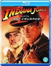 Indiana Jones and the Last Crusade (Blu-ray disc): Harrison Ford, Sean Connery, Denholm Elliott, Alison Doody, Julian Glover,...