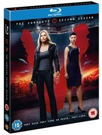 V: The Complete Second Season (Blu-ray disc): Elizabeth Mitchell, Morris Chestnut, Joel Gretsch, Logan Huffman, Laura...