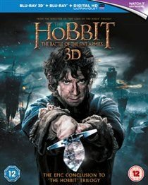 The Hobbit: The Battle of the Five Armies (English, Italian, Chinese, Blu-ray disc): Martin Freeman, Christopher Lee, Stephen...