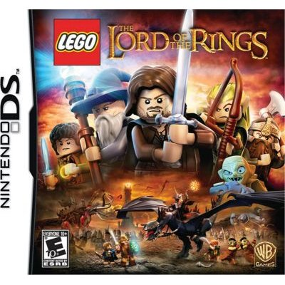 Lego Lord of the Rings (ENG/Danish) (Nintendo DS, Game cartridge):