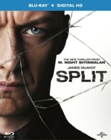 Split (Blu-ray disc): James McAvoy, Anya Taylor-Joy, Kim Director, Haley Lu Richardson, Sterling K. Brown, Sebastian Arcelus,...