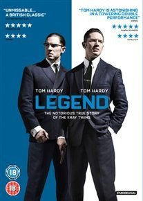 Legend (DVD): Emily Browning, Paul Anderson, Tom Hardy, David Thewlis, Tara Fitzgerald, Aneurin Barnard, Colin Morgan, Paul...