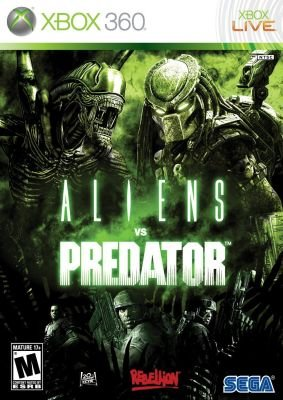Aliens vs Predator (PlayStation 3, DVD-ROM):