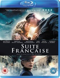 Suite Française (English, German, Blu-ray disc): Sam Riley, Matthias Schoenaerts, Harriet Walter, Michelle Williams, Alexandra...