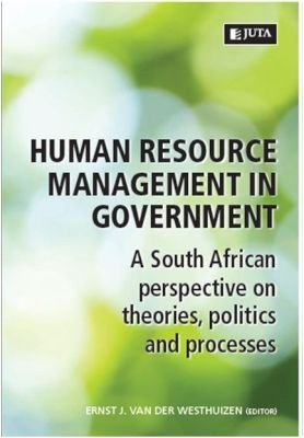Human Resource Management In Government - A South African Perspective On Theories, Politics And Processes (Paperback): Ernst J....