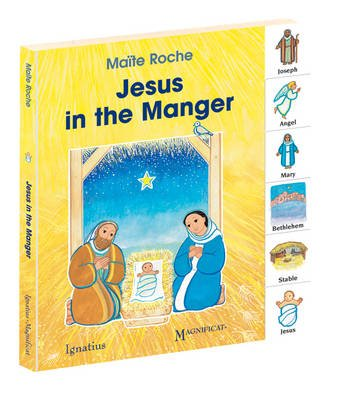Jesus in the Manger (Board book, New edition): Maite Roche