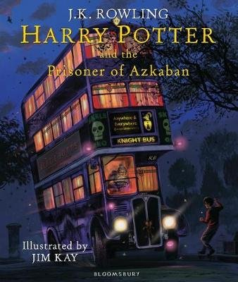 Harry Potter and the Prisoner of Azkaban (Hardcover, Illustrated Edition): J. K. Rowling