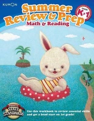 Summer Review & Prep: K-1 (Paperback): Kumon Publishing