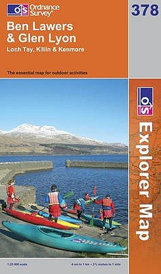 Ben Lawers and Glen Lyon (Sheet map, folded, A1): Ordnance Survey
