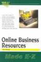 Online Business Resources (Paperback): Paul Galloway
