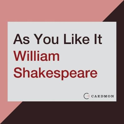 As You Like It (Abridged, Downloadable audio file, Abridged edition): William Shakespeare
