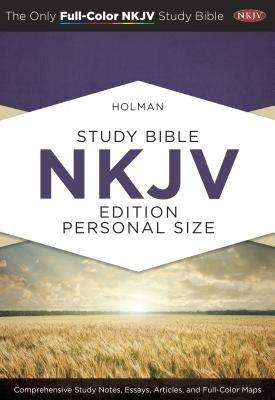 Holman Study Bible-NKJV-Personal Size (Hardcover): Holman Bible Staff