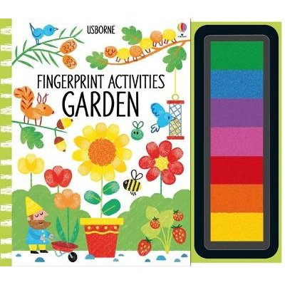 Fingerprint Activities Garden (Spiral bound): Fiona Watt
