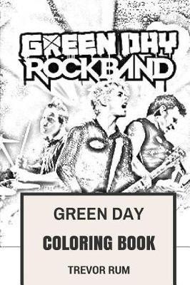 Green Day Coloring Book - American Punk Rock Pioneers Billie Joe and ...