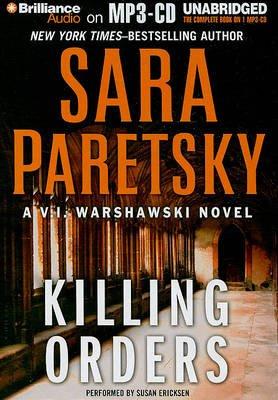 Killing Orders (MP3 format, CD): Sara Paretsky
