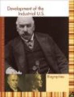 Development of the Industrial U.S. Reference Library - Biography (Hardcover): Sonia Benson