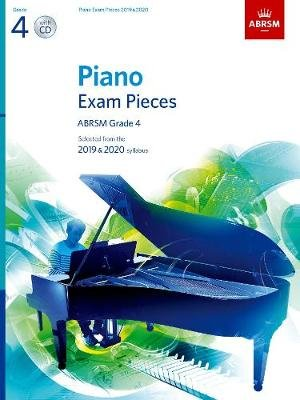 Piano Exam Pieces 2019 & 2020, ABRSM Grade 4, with CD - Selected from the 2019 & 2020 syllabus (Sheet music):