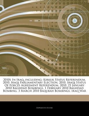 Articles On 2010s In Iraq Including Kirkuk Status Referendum