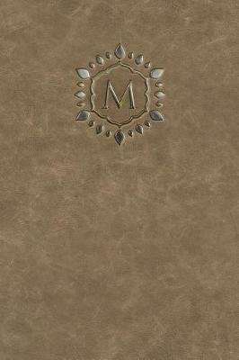 "Monogram ""M"" Any Day Planner Journal (Paperback): N D Author Services"