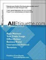 Alletiquette.com - A Power Guide (Paperback): Fredrica Cere Kussin