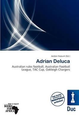 Adrian DeLuca (Paperback): Jordan Naoum