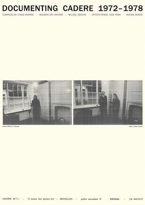 Andre Cadere - Documenting Cadere, 1972-1978 (Paperback): Paul Luckraft, Phillip Van den Bossche, Massimo Minini